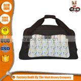 Quick Lead Low Price Oem Design Foldable Sports Weekend Polyester Duffle/Simple Travel Bag