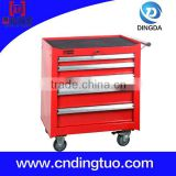Five Drawers Stainless Steel Tool Chest Roller Cabinet