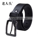 indian style leather man automatic belt custom your own design