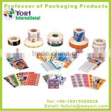 Yori high quality printing anti radar pvc sticker label