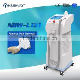 Beijing Nubway effective 2000W high power skin tightening 808nm diode laser hair removal machine for sale