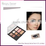 private label cosmetics eyeshadow palette 9 colors eyeshadow pallete with mirror