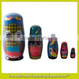 Custom Russian wooden Doll set