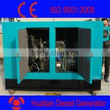 Silent Diesel Generator Set-100kw/kva-R6105AZLD Diesel Engine With Stamford Brushless Alternator- Soundproof Canopy