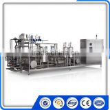 Small Milk Pasteurization Machine Automatic Tubular Sterilizer With Deaerator And Homogenizer