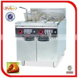 Electric Fryer with 6-Chinnel Timer (28L*2)