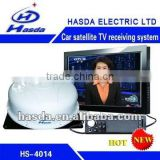 Satellite TV receiver for car