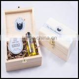 Small handmade eco-friendly Recycled Materials Feature wooden essential oil bottles gift storage box