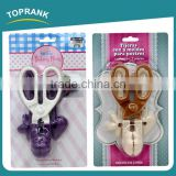 Toprank BSCI Factory New Design Scissors Shape Cake Mould Multifunction Cake Mold Bakeware Cake Mold Cooking Cutter