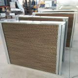 Evaporative Cooling Pad Brown and Green Color