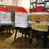 NCC-4 Santa claus Christmas chair cover reinder non woven Christmas chair cover