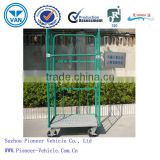 Most Popular Powder Coating Steel Roll Trolley/Roll Cage/Logistics Trolley (ISO SGS TUV Approved )