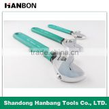 Hot Sale plastic handle Ajustable Wrench