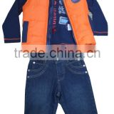 BOYS 3PCS JACKET SET