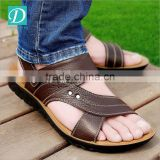 Male Sandals Men Genuine Leather Shoes Open Toe Sandals Slippers fashion Casual Shoes