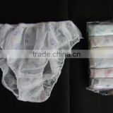Female printed color Disposable hospital panties