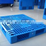 China direct supplier standard size double faced plastic pallet, 4-way plastic board for cargo loading