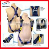 retractable safety belt full body harness lanyard