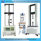 universal tensile testing equipment textile fiber tensile test machine/ rubber tensile tester with servo governor