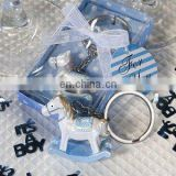 Blue Rocking Horse Keychain Favors