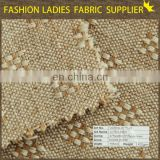 cotton jute linen fabric for shirt,51%jute 47%cotton 2%linen linen fabric made in china