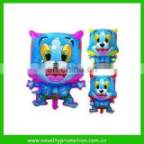 Cartoon helium balloon