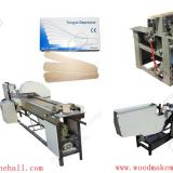 Hot sell wooden tongue depressor making machine China for sale