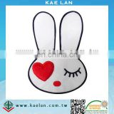 Rabbit applique embroidered patch for kids clothing