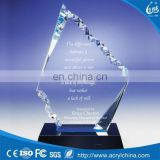 2016 Promotional Products Acrylic Trophy, Acrylic Award, Plastic Acrylic Trophy