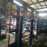 Raw material shelf storage tube rod bar axis Angle channel steel