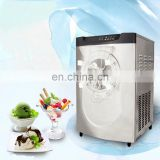 Commercial hard ice cream maker machine