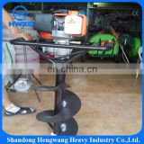 New design one man well drilling manual earth auger with heavy duty