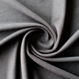 100% brushed polyester soft environmentally friendly material black white knitted fabric for lining of garments,shoes