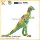 Mini solid pvc toys dinosaur model