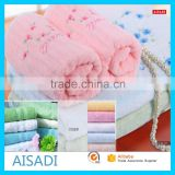 Face Towel Size Cut Pile Face Towel Wholesale Factory Custom Gift Bathroom Plain Embroidery