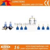 Cylinder Manifold, co2 safety valve, Gas valve manifold for CNC Flame Gas Cutting Machine
