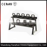 Horizontal Kettlebell Rack/TZ-3026/ Gym Accessories /Hot Sale Muscle Building Equipment from China