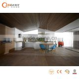 White color modern kitchen cabinet with PVC film finish board(CDY-MK030)