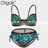 Olgak 2016 Fashion Sexy Leopard Bikini Swimwear                                                                         Quality Choice