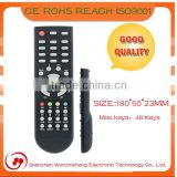 Shenzhen OEM and ODM 15 years manufacturer STB home appliance infrared TV remote control