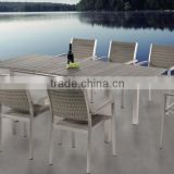 Popular silver brushed aluminum foil plastic compositive wood aluminium anodizing furniture