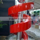 Zhejiang shengfa selling well modern stainless steel fountain sculptures for decoration/statue