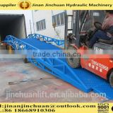 0.5~1.6m, 12 ton used mobile yard ramp /motorcycle ramps for sale /forklift loading ramps