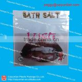 bath salt plastic bags