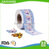 custom colored printed wax paper for food Candy Wrapping