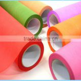 super quality spunlace nonwoven viscose/polyester fabric roll,100% polyester fabric roll