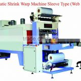 Automatic shrink wraping machine (web sealer) for Fruits tray