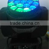 stage led wash moving head zoom function beam effect WASH BEAM ZOOM R G B W Color mixing DMX512 powercon in / powercon out