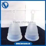 Factory Direct silicone menstrual cup for heavy periods, free sample, menstrual cup folds