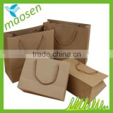 Custom brown kraft paper bag, Brown paper bag, Luxury paper shopping bag                                                                                                         Supplier's Choice